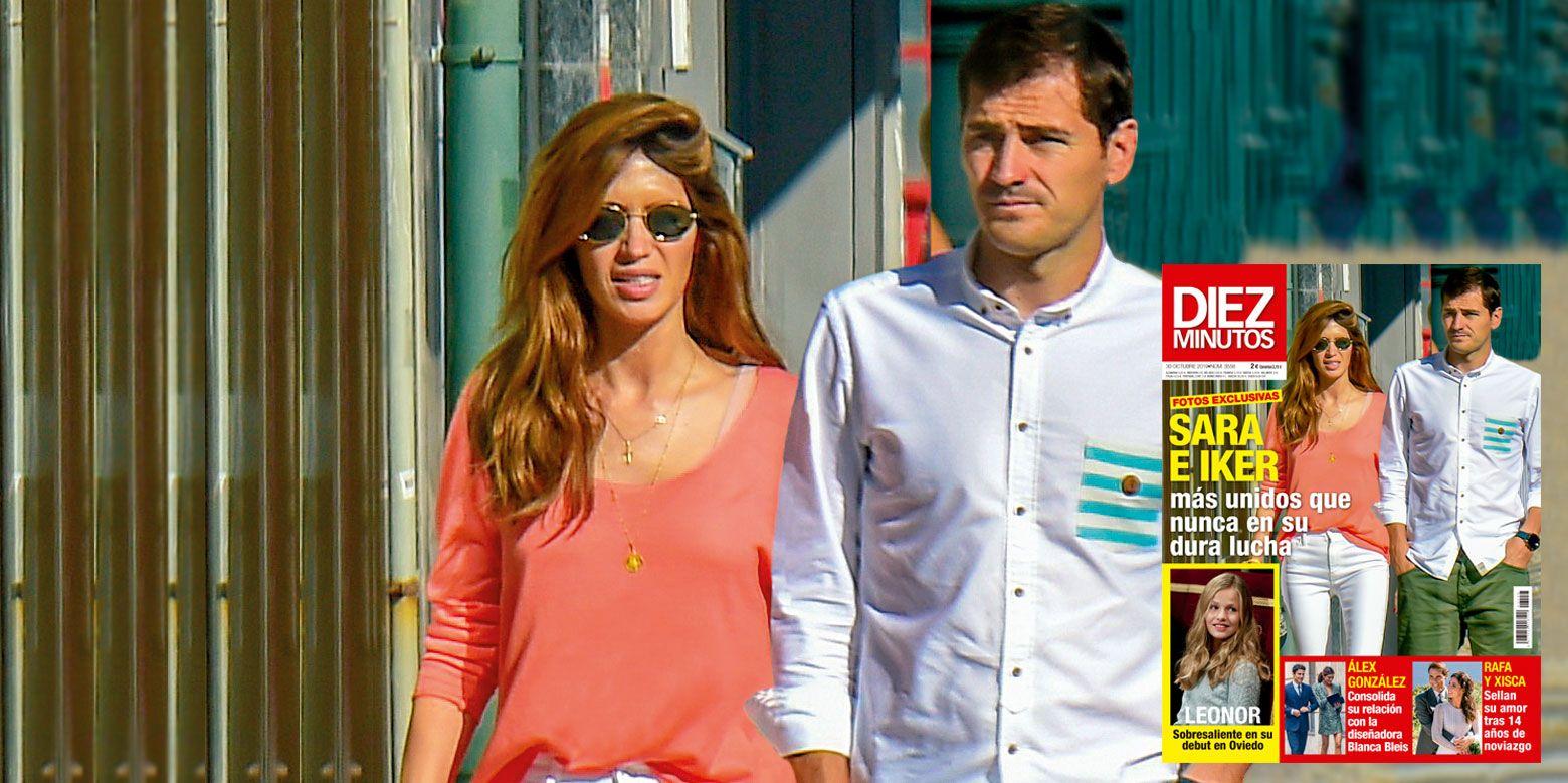 Sara Carbonero e Iker Casillas, una pareja unida en su otoño más difícil