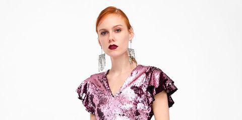 07b237d59a99 Zara saca una colección de vestidos 'brillibrilli' ideales- Ficha tu ...