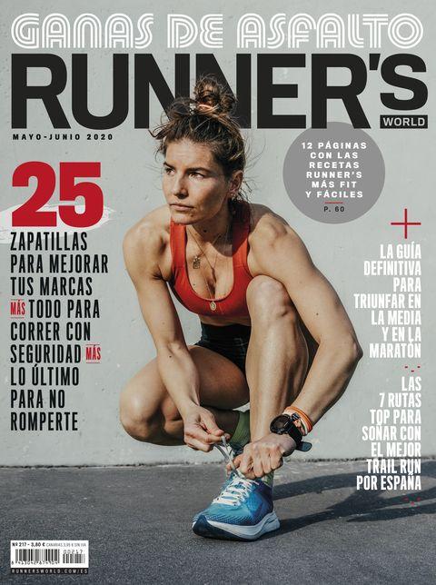 portada de la revista runner's world de mayo y junio de 2020