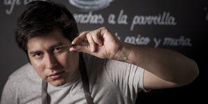 Omar Malpartida es uno de los cocineros peruanos de referencia en Madrid