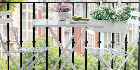 Conjunto de balcón Portobello blanco