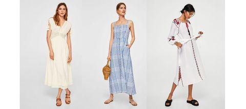 e15a4ca864 Estos son los vestidos más bonitos para primavera de Mango  Outlet