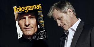 Viggo Mortensen, portada de la revista Fotogramas
