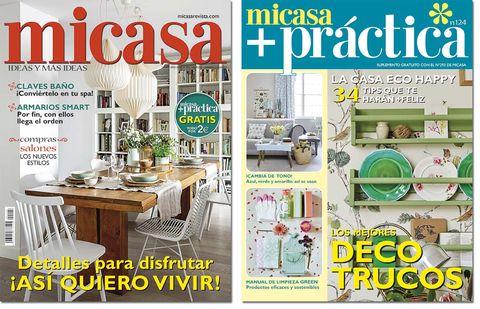 Portadas Micasa + Práctica, nº 293, marzo 2019