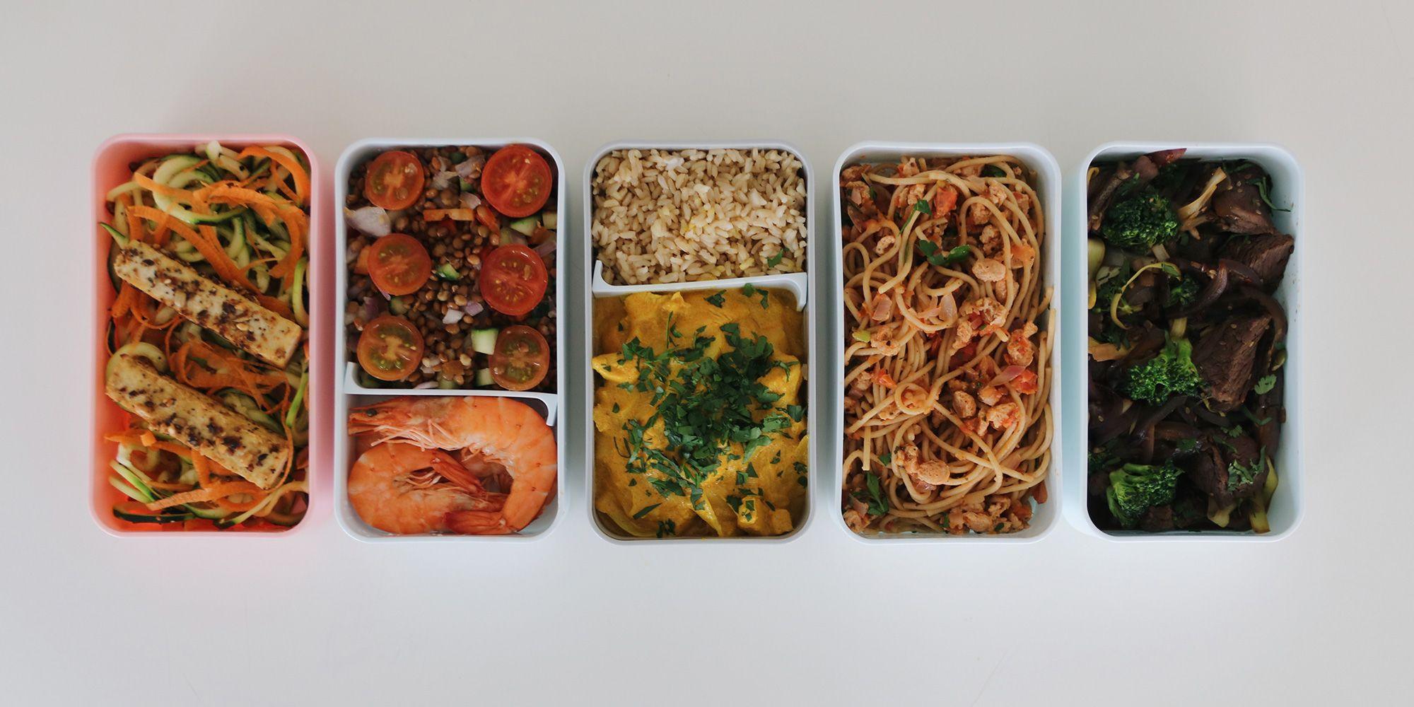 comida para llevar al trabajo dieta