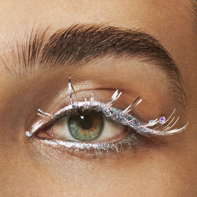 Eyebrow, Face, Eye, Eyelash, Skin, Eye shadow, Close-up, Organ, Forehead, Head,