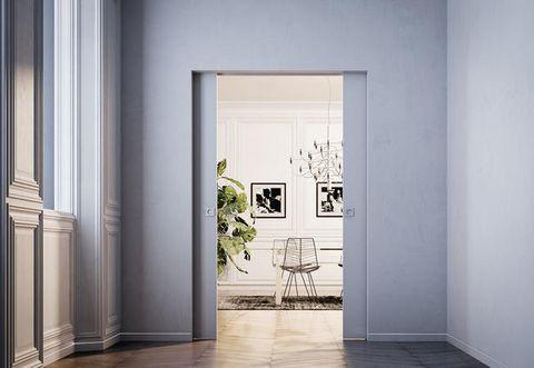 Eclisse Telai Porte Scorrevoli.La Eclisse Syntesis Collection E Una Linea Di Porte A Scomparsa