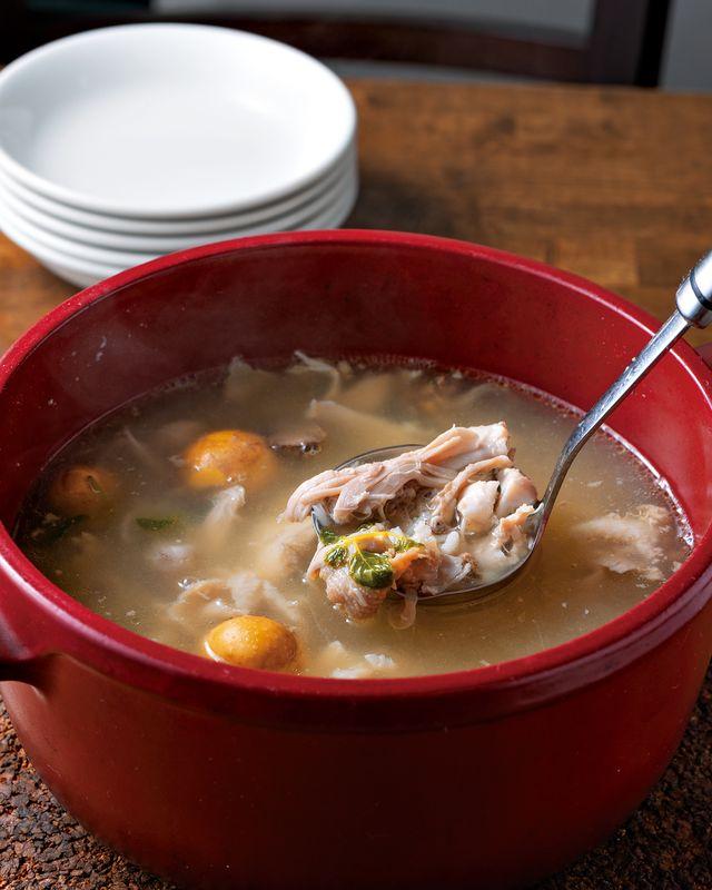 ポルトガルの養生鍋「カンジャスープ」
