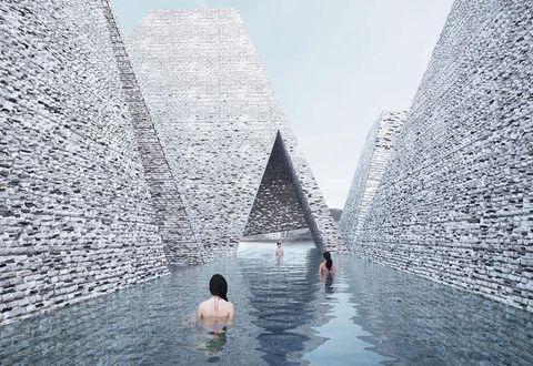 Il progetto di Kengo Kuma per il porto di Copenhagen