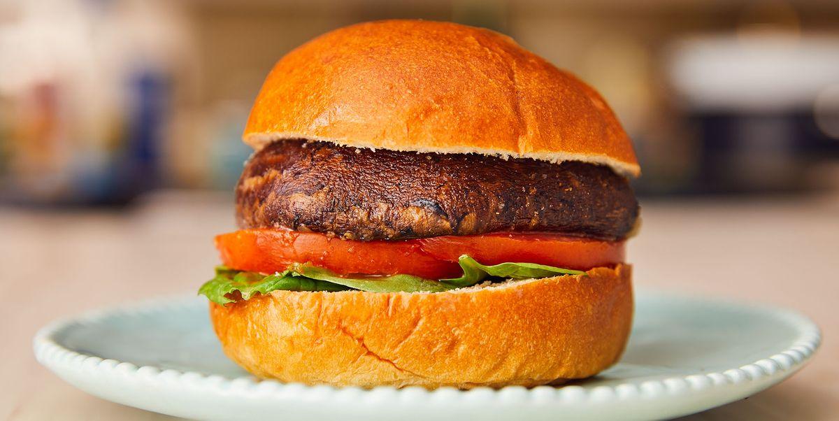 Best Portobello Mushroom Burger Recipe How To Make Portobello Mushroom Burger