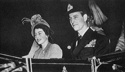 Elizabeth II et le Duc d'Edimbourg