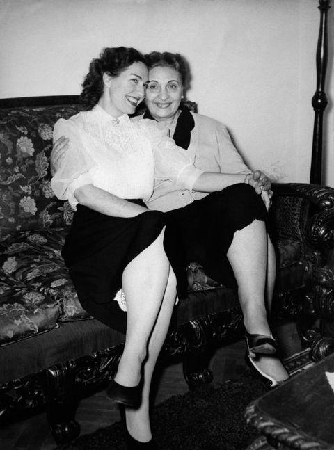 la mère et la soeur de maria callas
