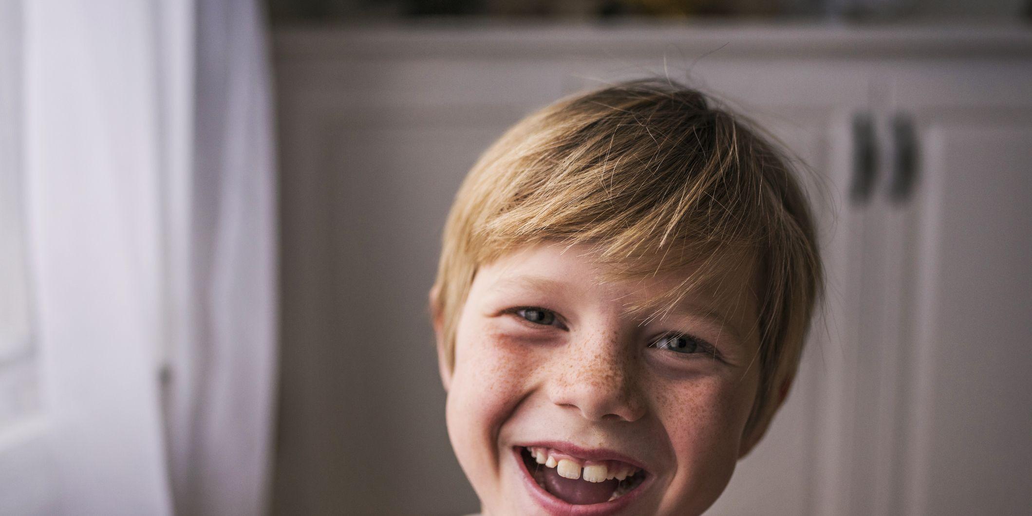 Niño sonrisa