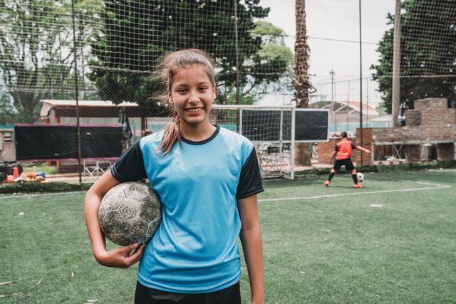 mujer futbolista