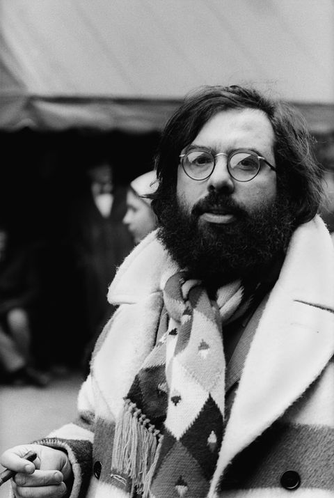 Francis Ford Coppola On The Godfather II Set