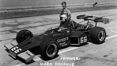 indy 500 winner mark donohue