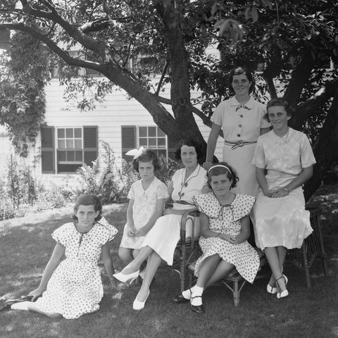 portrait of the kennedy women