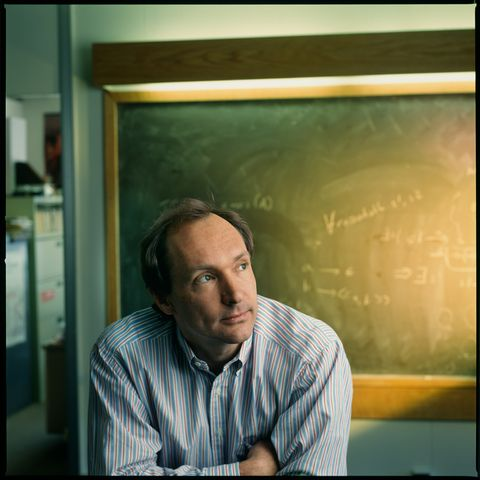 Portrait Of Tim Berners-Lee