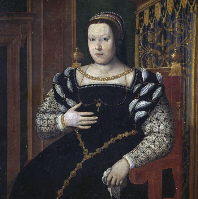 portrait of catherine de medici, queen of france