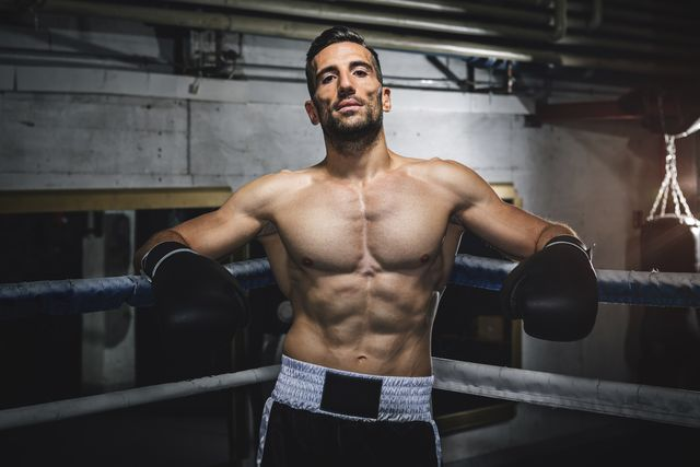 hombre boxeo