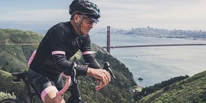 Portrait of Cyclist near San Fransisco
