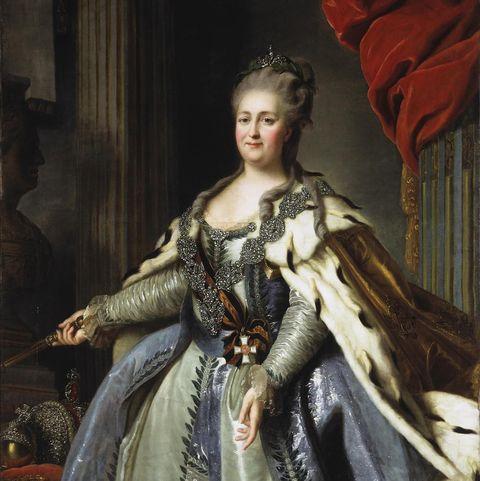 Portrait of Empress Catherine II (1729-1796), 1780s