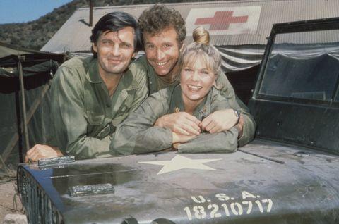 Alda, Rogers, & Swit In 'MASH'