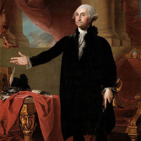 George Washington By Stuart