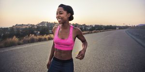 can running give you abs?