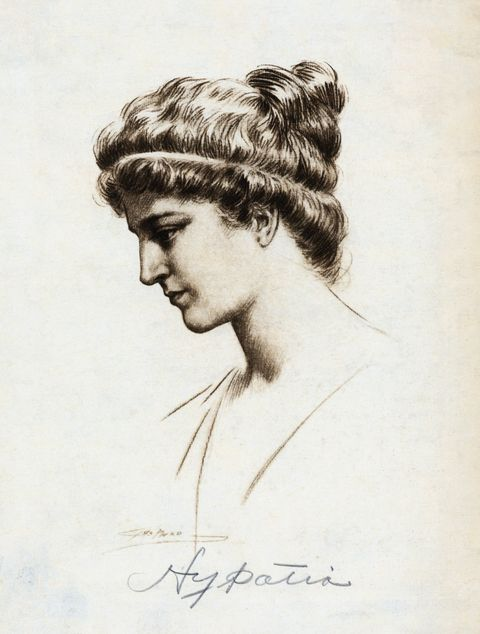 Profile of Greek Mathematician Hypatia