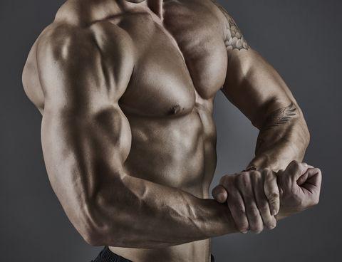 Entrenamiento de bíceps en casa