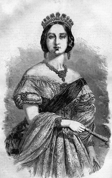 Portrait of Queen Victoria of the United Kingdom
