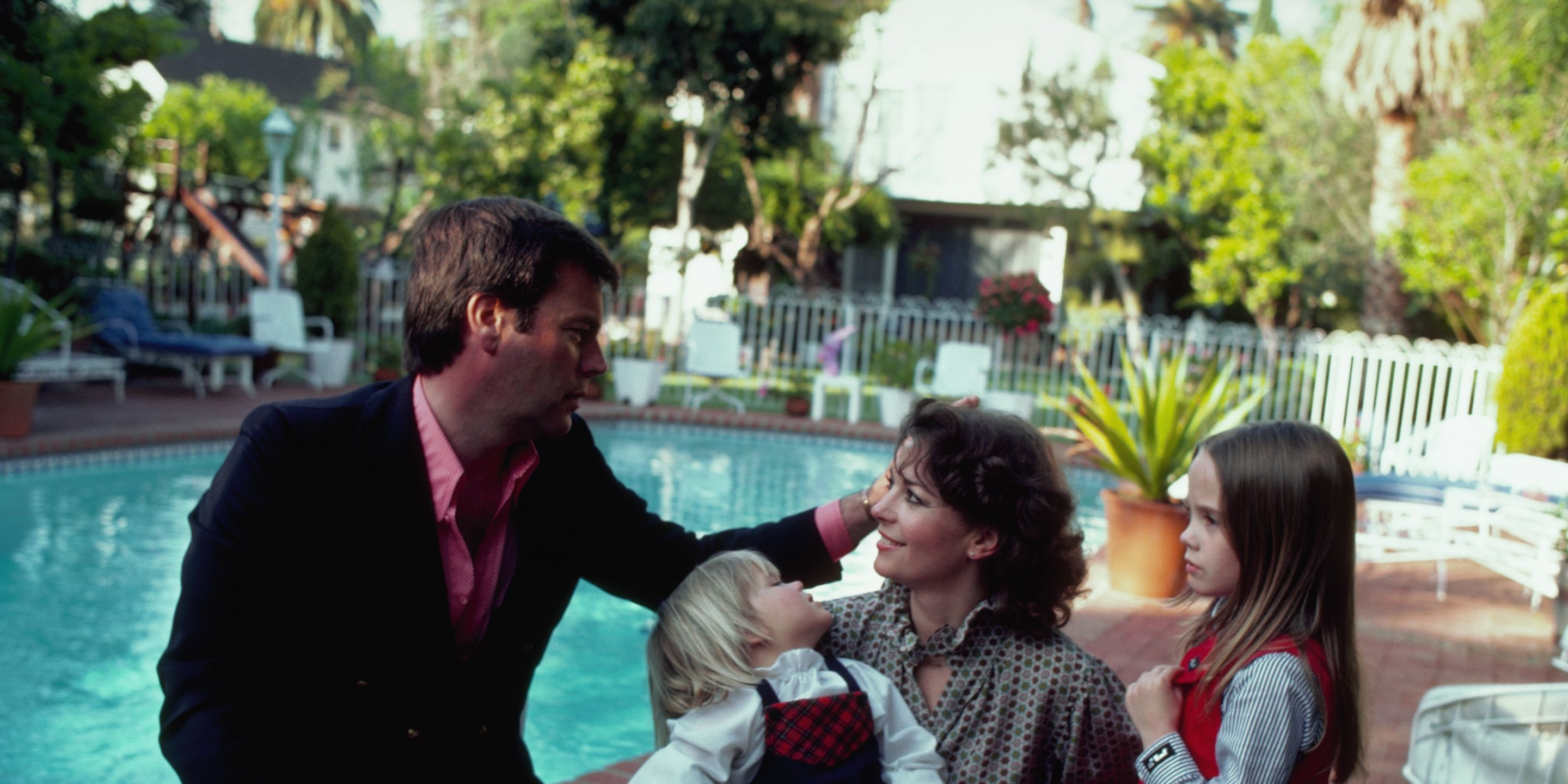 Robert Wagner, Natalie Wood and Family