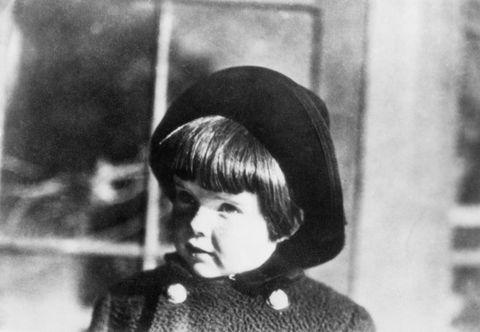 katharine hepburn at age four