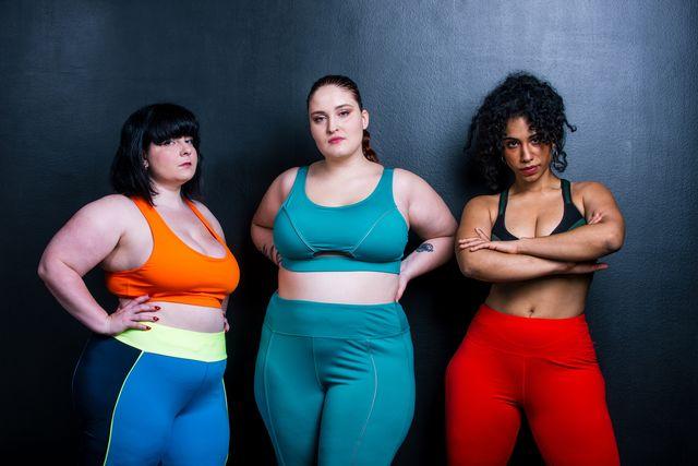 mujeres desportistas bellas y gordas