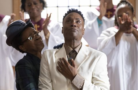 """pose    """"take me to church""""    season 3, episode 4 airs may 16 pictured janet hubert as latrice, billy porter as pray tell cr eric liebowitzfx"""
