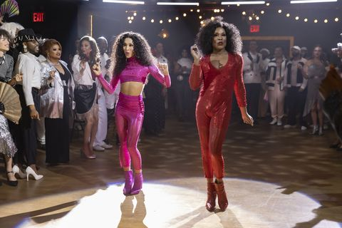"""pose    """"series finale""""    season 3, episode 7 airs june 6 pictured mj rodriguez as blanca, billy porter as pray tell cr eric liebowitzfx"""