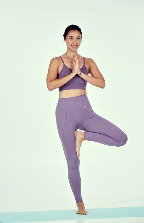 el arbol  postura de yoga