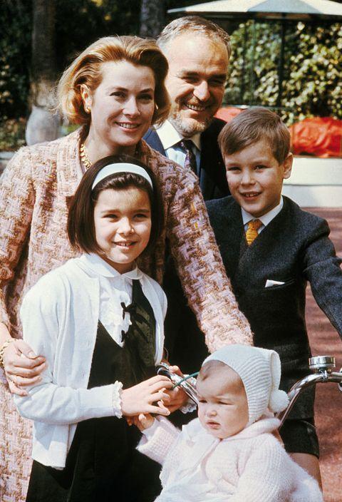 Prince Rainier and His Family