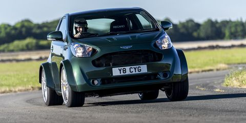 Aston Martin Built A V8 Cygnet Yeah That Cygnet