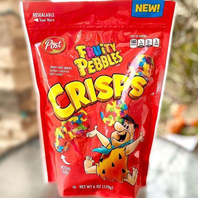 post consumer brands fruity pebbles crisps