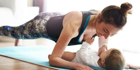 plan entrenamiento ejercicios post embarazo