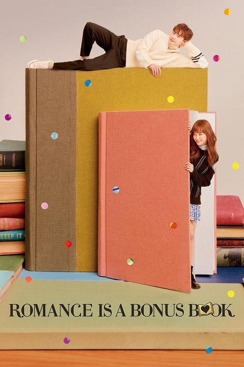 romance is a bonus book promotional poster