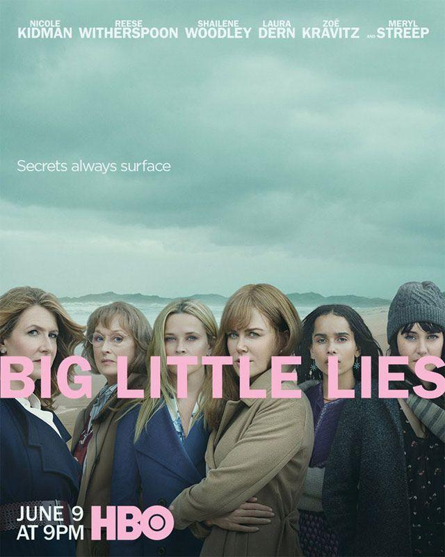 Póster segunda temporada de Big Little Lies