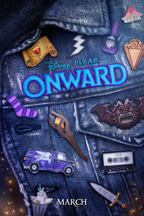 onward disney poster