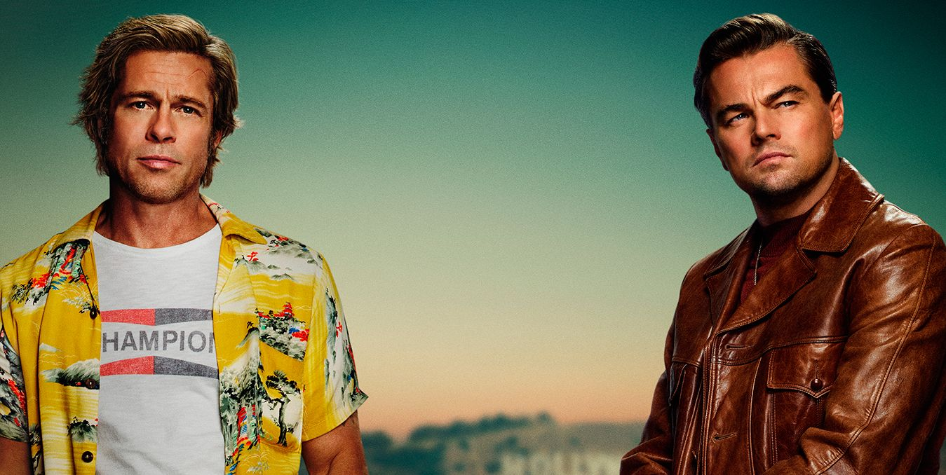 once upon a time in hollywood brad pitt y leo di caprio
