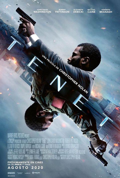 Tenet, Sobrios Póster de la Nueva Película de Christopher Nolan