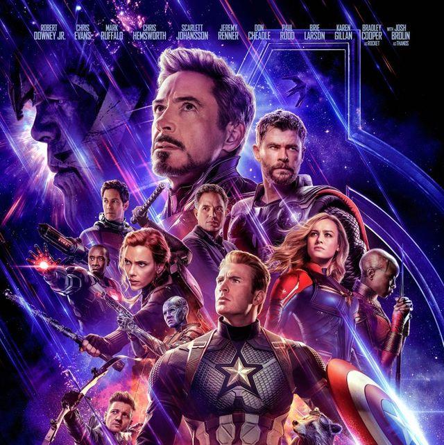 Vengadores Endgame poster