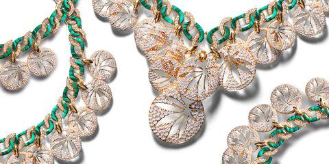 Jewellery, Fashion accessory, Necklace, Body jewelry, Gemstone, Jewelry making, Bracelet, Turquoise, Chain, Metal,