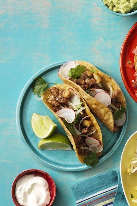 chorizo and potato tacos recipe
